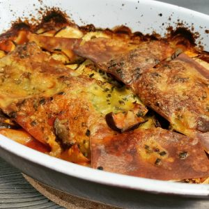 Aubergine Lasagne Vegan für den Alltag